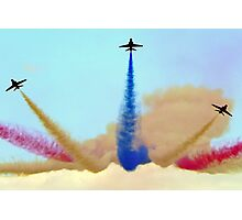 Whitby Red Arrows Photographic Print