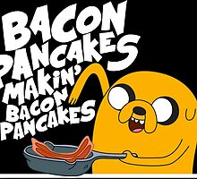 Makin Bacon Pancake by softlightshirt
