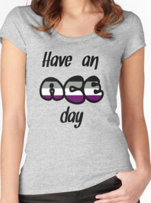 Have an ace day Women's Fitted Scoop T-Shirt