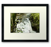 Upstream Aira Force - Ullswater Framed Print