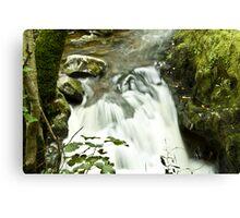 Upstream Aira Force - Ullswater Canvas Print