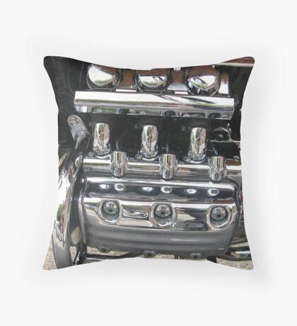Chrome Bling Throw Pillow