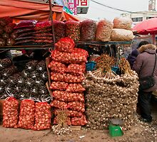 Market Stall, Seoul, South Korea. by bulljup