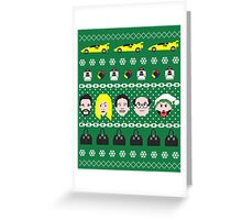 Its Always Sunny- Ugly Christmas Sweater ... T-shirt Greeting Card