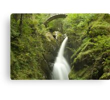 Cascading Waters - Aira Force, Ullswater Canvas Print