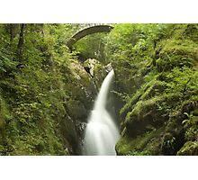 Cascading Waters - Aira Force, Ullswater Photographic Print