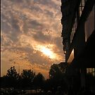 Warsaw sky by Narin