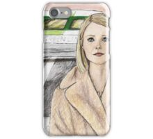 by way of the green line bus iPhone Case/Skin