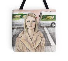 by way of the green line bus Tote Bag