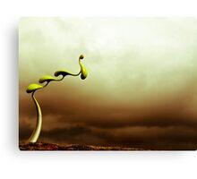 Alien Pods Canvas Print