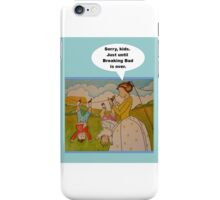 """Anti-""""Helicopter Parenting"""" for Breaking Bad iPhone Case/Skin"""