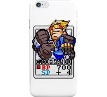 Captain Commando iPhone Case/Skin