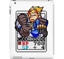 Captain Commando iPad Case/Skin