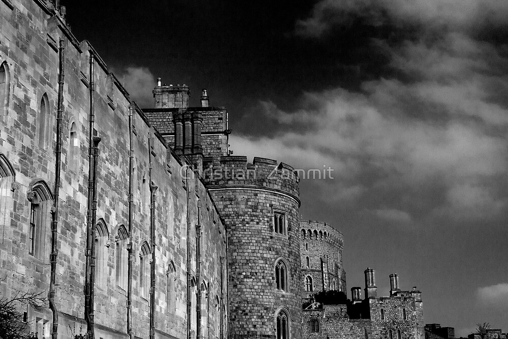 The side of Windsor by Christian  Zammit