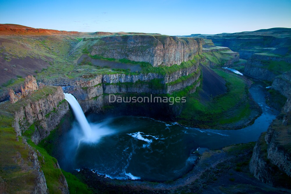 Palouse Falls Dusk by DawsonImages