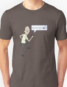 Rick and Morty - Personal space guy - like T-Shirt