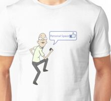 Rick and Morty - Personal space guy - like Unisex T-Shirt