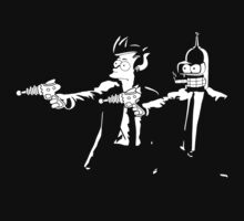 Bender & Fry Pulp Fiction by Titius