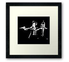 Bender & Fry Pulp Fiction Framed Print