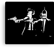 Bender & Fry Pulp Fiction Canvas Print
