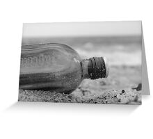 Drowned sorrows? Greeting Card
