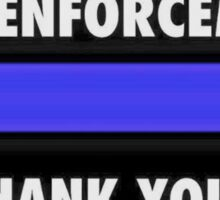 I Support Law Enforcement Sticker