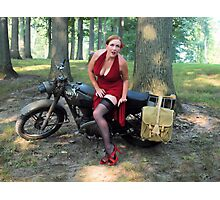 Matchless and Redhead Photographic Print