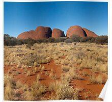 Kata Tjuta, Central Australia Poster