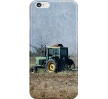 Working The Ground With John Deere iPhone Case/Skin