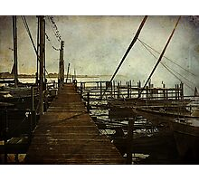 The Pier at Dawn Photographic Print