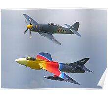 """Miss Demeanour"" Hunter - Sea Fury T20 Poster"