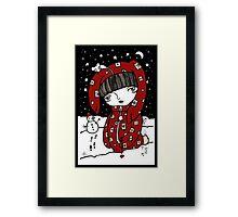 Lumi Mies Framed Print
