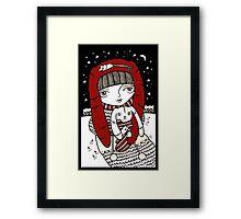 Lumi Kani Framed Print