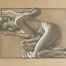 Nude Study Five by Brent Schreiber