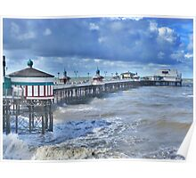 North Pier -Blackpool  Poster