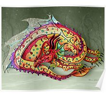 The Glass Winged Dragon Poster