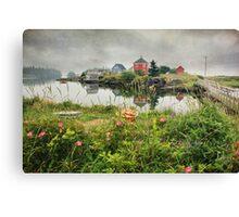 Foggy Day at Stonehurst I Canvas Print