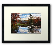 Atumn Reflections Framed Print