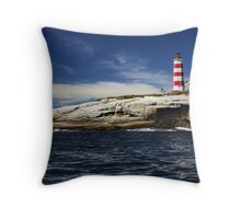 Sambro Island Lighthouse Throw Pillow