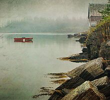 Stonehurst in the Fog III by Amanda White