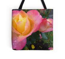 Pink And Yellow Beauty Tote Bag