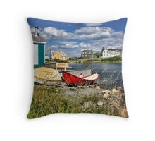 Prospect Colours I Throw Pillow