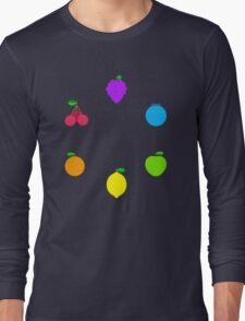 Rainbow Fruit Long Sleeve T-Shirt