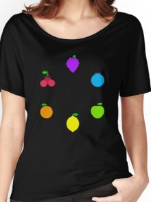 Rainbow Fruit Women's Relaxed Fit T-Shirt