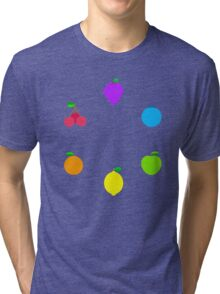 Rainbow Fruit Tri-blend T-Shirt