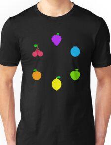 Rainbow Fruit Unisex T-Shirt