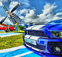 Twin Mustangs - HDR by Colin J Williams Photography