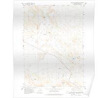 USGS Topo Map Oregon South Fork Reservoir 281569 1977 24000 Poster