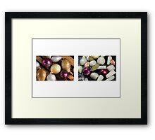 Onions Meet & Eat Framed Print