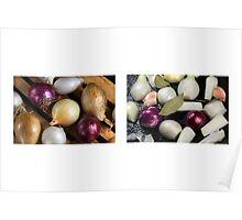 Onions Meet & Eat Poster